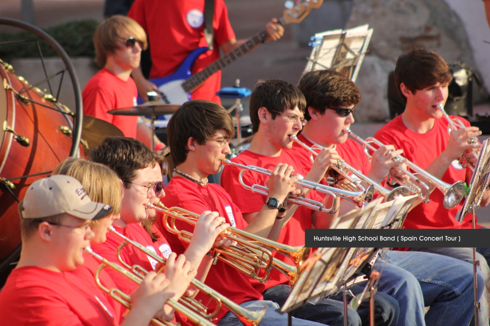 Huntsville-High-School-Band