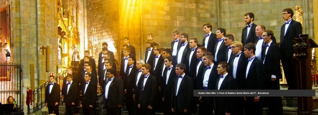 Varsity-Glee-Men´s-Choir-in-Barcelona