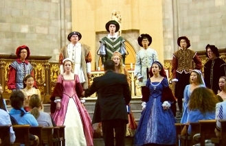 Palo Alto High School Madrigal Singers- Spain Concert Tour 2014