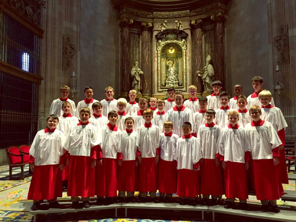 Phoenix Boys singing at  Cloister San Isidoro  in Leon- Spain Tour -June 2014