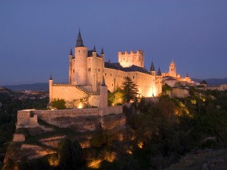 Alcazar fortress in Segovia
