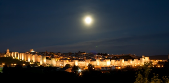 Avila at Night
