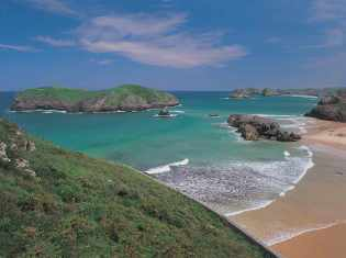 Beaches in Green Northern Spain