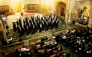 Varsity Glee Men´s Choir in Barcelona