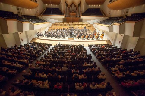 San Jose Youth Symphony . Yair Samet, conductor.at Palau de la Musica de Valencia